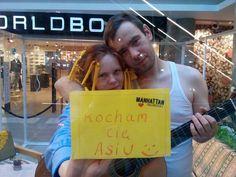 Walentynki w Manhattanie! 14 luty 2015, Grażyna i Stefan
