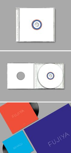 "Richard Robinson Design  Format –  CD/10""x3    Client –  Tirk Records"