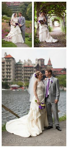 Mohonk Wedding photography in front of Mohonk Mountain House in New Paltz NY.