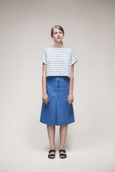 Panda Top and Juli Skirt | Samuji SS15 Classic Collection