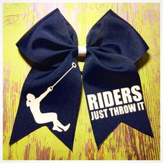 Hammer throw bow to add to our collection of track and field bows!    www.facebook.com/MidnightBows  Instagram - @MidnightBows