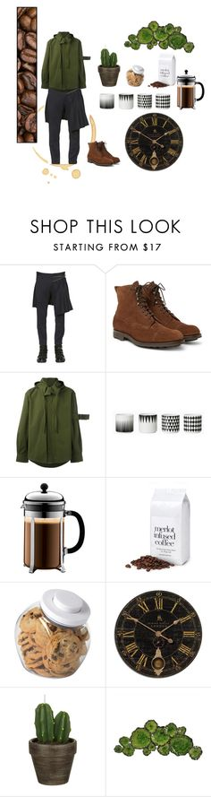 """""""I.D. 1.0"""" by perwersnatura on Polyvore featuring Dsquared2, Craig Green, ferm LIVING, Bodum, OXO, John Lewis, Moe's Home Collection, men's fashion i menswear"""