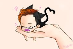 Markiplier Cat by Ever-Bliss on DeviantArt << MEOWKIPLIER!!!!!!