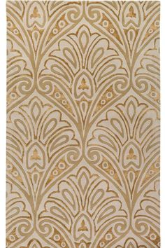 $1280 kind of art nouveau, could set a nice tone for a room, or could give it cruise ship/vegas feel  Metropolitan Collection Orleans Area Rug - Area Rugs - Wool Rugs | HomeDecorators.com