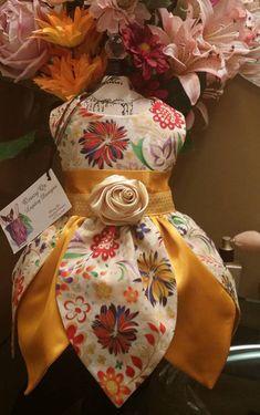 ON SALE: Pretty special occasion petal bottom dog dress