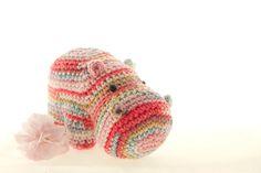 Super sweet hippo pattern