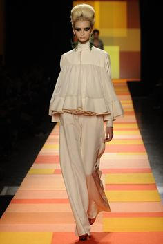 Jean Paul Gaultier Spring Couture 2013 --VOLUME IS BACK!
