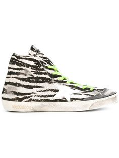 GOLDEN GOOSE Francy high-top sneakers. #goldengoose #shoes #sneakers