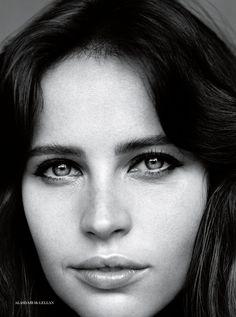 Felicity Jones by Alasdair McLellan for Vogue UK February 2014