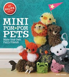 Mini Pom-Pom Pets Kit. i remember having one of these!! i loved it!!