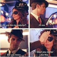 Toby and Jenna scene halloween episode.