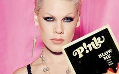 Such a Pink fan. Sexy & Smart