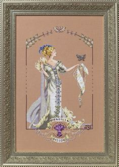 "COMPLETE X STITCH KIT /""ROYAL GAMES I/""  MD 150 by Mirabilia SALE"