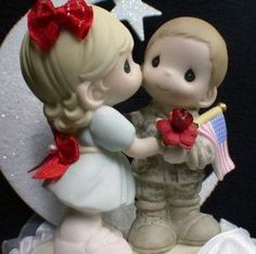 precious moments army wedding cake toppers 1000 images about precious moments on 18707