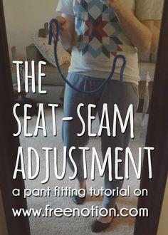 {tutorial} The Seat Seam Adjustment — Free Notion