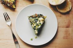 Chard & Leek Fritata . Sprouted Kitchen