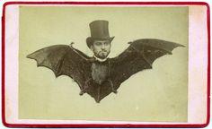 """Batman. ca. 1870-80 """"Help Meeeeeeeeee ...!"""""""