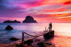 Ibiza Luxury Travel is the perfect travel companion: informed, entertaining and one step ahead of the crowd. Luxury Villas & Service in Ibiza. Ibiza, Luxury Villa, Luxury Travel, Monument Valley, It Cast, Landscape, Water, Outdoor, Tech House