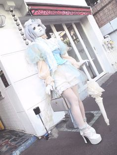 [ • Minori - shironuri fashion • ]
