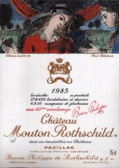 Château Mouton Rothschild 1985 - 1st Growth - Pauillac / Bordeaux / France