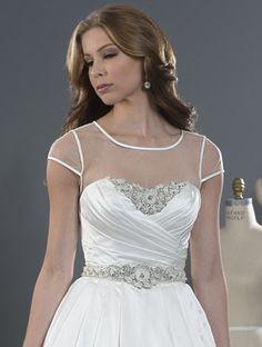 ALFRED ANGELO Bridal, Style 2489. #BestForBride