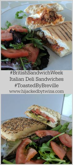 Toasties are a great way to enjoy a warm sandwich. Check out these Italian inspired deli melts Italian Deli, Best Sandwich, Budget Meals, Sandwiches, Yummy Food, Twins, Recipes, British, Warm