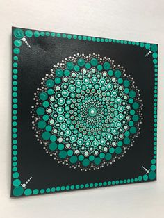 A personal favorite from my Etsy shop https://www.etsy.com/listing/572352192/mandala-original-painting-on-canvas