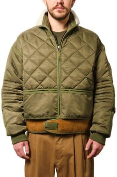 "480$ 032c WWB ""Chevignon by 032c"" Cosmo Jacket Green"