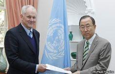 Secretario de la ONU pide fin a conflicto en Siria