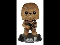 This Chewbacca Pop! figure turns Chewbacca from Star Wars The Force Awakens into a cute bobblehead figure. Must have Chewbacca collectible figure for fans! Star Wars Trivia, Star Wars Episoden, Star Wars Facts, Funko Pop Star Wars, Star Wars Humor, Chewbacca, Star Wars Figurines, Comic, Star Wars Tattoo