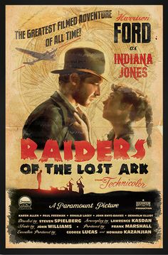 """""""Indiana Jones and the Raiders of the Lost Ark"""", (1981)."""