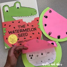Apples and ABC's: Watermelon Seed Addition