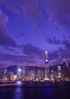 Hong Kong. The boardwalk.