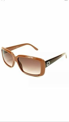 1e39b8ba45 Gucci GG-3575-S Authentic Designer Sunglasses frames Brown  fashion   clothing