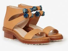 3.1 Phillip Lim Cosmic Zip-Up Sandals | Spring Fashion | Everywhere