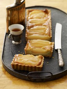 Yummy pear or apple tart.