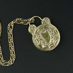 Antique Edwardian Locket Necklace