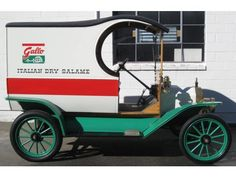 1913 Ford Model T C-Cab Delivery Truck Restored