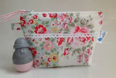 Cath Kidston Rose Fabrics Cosmetic Bag with Water by sewmoira