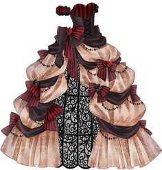 Anime Outfits, Dress Outfits, Girl Outfits, Cute Outfits, Dress Drawing, Drawing Clothes, Dress Sketches, Fashion Sketches, Misaki