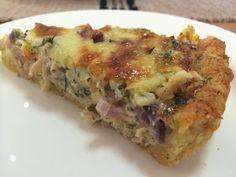 Liian hyvää: Tilli-tonnikala-cheddarpiirakka ja hääpäivän viettoa Quiche, Breakfast, Food, Morning Coffee, Essen, Quiches, Meals, Yemek, Eten