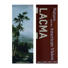 Nature and the American Vision Street Banner – LACMA Store