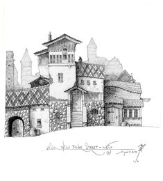 High Tower Street - West by SirInkman.deviantart.com on @deviantART