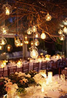 gorgeous wedding center piece