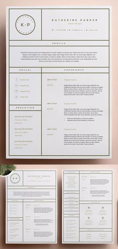 An another roundup of Simple Clean Resume Templates, ready to use print resume designs can assist you achieve your dreams. These best resume templates are hand Unique Resume, Basic Resume, Simple Resume, Professional Resume, Modern Resume Template, Resume Template Free, Creative Resume Templates, Creative Resume Design, Design Brief Template