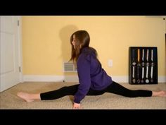 How to get your splits in less than a month! So glad I found this! Tryouts here I come!