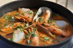 Alma Portuguesa, Arroz de Marisco  - A receita não é minha , mas admiro comidas com peixe e frutos do mar !