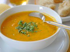 WortelSoep Recept met Sinaasappel