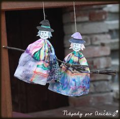 Witch, Halloween, Christmas Ornaments, Holiday Decor, Crafts, Craft Ideas, Top, First Grade, Xmas Ornaments