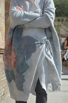 Nuno felt coat by Ia Gulisashvili